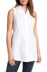 Foxcroft Women's Sleeveless Cotton Tunic