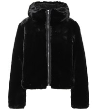 Fusalp Mongie Faux Fur Jacket Black