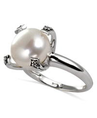 Honora Style Cultured Freshwater Pearl Ring In Sterling Silver 12Mm