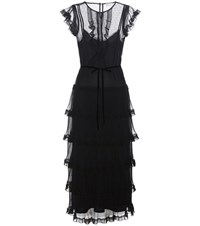 Red Valentino Lace Dress Black