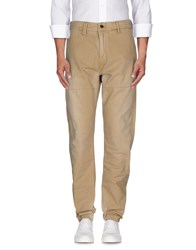 Denham Jeans Denham Trousers Casual Trousers Men Beige
