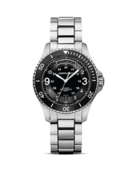Hamilton Khaki Scuba Automatic Watch 41Mm Black Silver