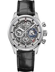 Zenith 03.2153.400 78.C813 Chronomaster El Primero Full Open Leather Watch