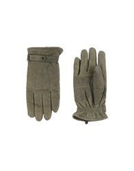 Barbour Gloves Military Green