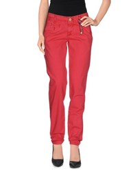 Tommy Hilfiger Denim Trousers Casual Trousers Women Red