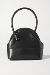 Louise Et Cie Isel Leather Tote Black