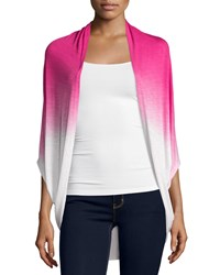 Design History Dip Dye 3 4 Sleeve Cardigan Power Pink