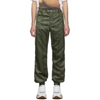 Enfants Riches Deprimes Green Logo Track Pants