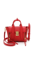 3.1 Phillip Lim Pashli Mini Satchel Red