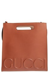 Gucci Men's Embossed Calf Leather Tote