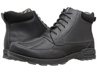 Dockers Lakewood Black Oiled Tumbled Full Grain Men's Lace Up Boots