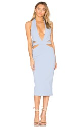 Donna Mizani Eden Midi Dress Blue