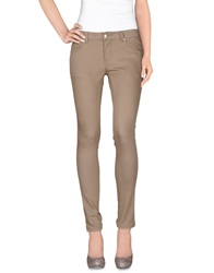 Silvian Heach Denim Pants Beige
