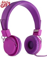 Polaroid Foldable Headphones Purple