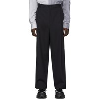 Juun.J Navy Wool Trousers