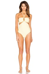 6 Shore Road Push Cart One Piece Swimsuit Yellow