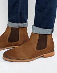 Call It Spring Draun Suede Chelsea Boots Tan