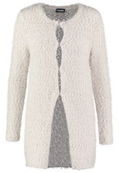 Taifun Cardigan Chalk Light Grey