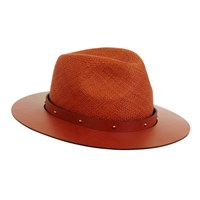 The Season Hats Beaufort Rose Gold Brown Nude
