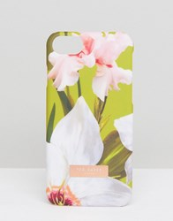 Ted Baker Iphone Case In Chatsworth Bloom Lt Green Multi
