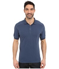 Kuhl Edge Short Sleeve Shirt Lake Blue Men's Short Sleeve Button Up