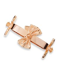 Tuleste Bow Bangle Bracelet Rose Gold