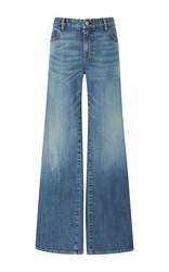 Nili Lotan Ena Wide Leg Jeans Light Wash