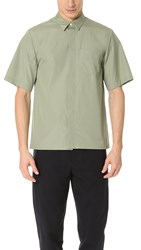 3.1 Phillip Lim Short Sleeve Box Cut Shirt Sage