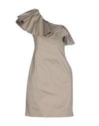 Trou Aux Biches Dresses Short Dresses Women Dove Grey