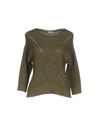 Cappellini By Peserico Sweaters Military Green