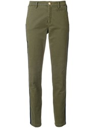 History Repeats Slim Fit Trousers Green