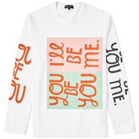Comme Des Garcons Homme Plus Be Yourself Tee White