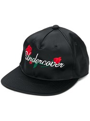 Undercover Embroidered Logo Baseball Cap Black