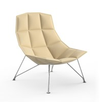Knoll Jehs Laub Wire Base Lounge Chair Multicolor
