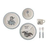Bloomingville Charles Serving Set Blue