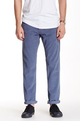 14Th And Union Straight Leg Corduroy Pant Blue