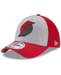 New Era Portland Trail Blazers Total Reflective 39Thirty Cap Red Gray