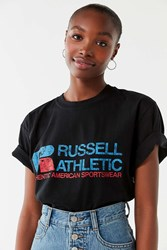 Russell Athletic Generals Oversized Tee Black