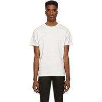 Tiger Of Sweden Jeans Off White Essek T Shirt