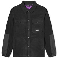 Penfield Falkirk Fleece Overshirt Black