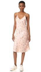 One By Unveil Project Printed Floral Slip Dress Pink Floral