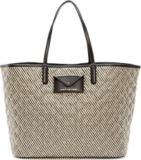 Marc By Marc Jacobs Beige Quilted Straw Metropolitote Beach Tote