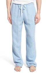 Men's Daniel Buchler Washed Linen Lounge Pants