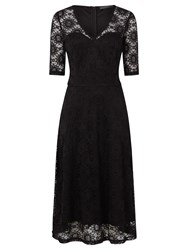 Sugarhill Boutique Imelda Lace Midi Dress Black