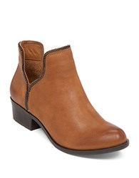 Bcbgeneration Crush Leather Boots Camel