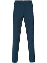 Egrey Straight Fit Trousers Blue