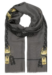 Guess Privacy Scarf Black Multi