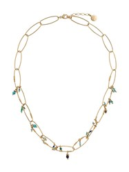Gas Bijoux Cocoa Beaded Necklace Gold