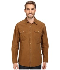 Kuhl Kompakt Long Sleeve Shirt Bronze Men's Long Sleeve Button Up