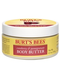 Burt's Bees Cranberry And Pomegranate Body Butter 6.5 Oz